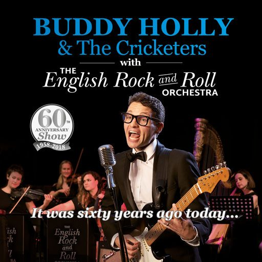 Buddy Holly & The Cricketers with The English Rock and Roll Orchestra