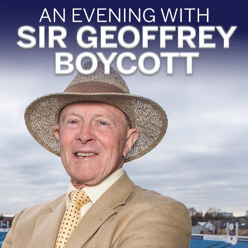An Evening with Sir Geoffrey Boycott